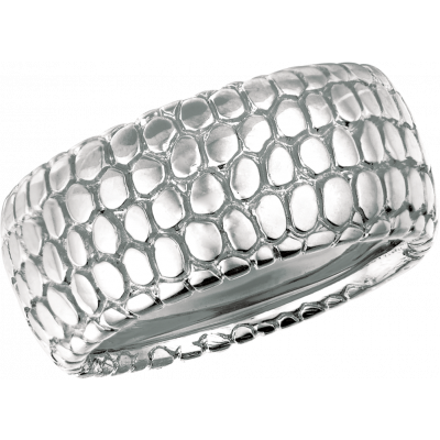 18kt White Gold Snake Skin Ring