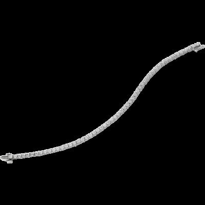 Platinum Gemlok Diamond Bracelet