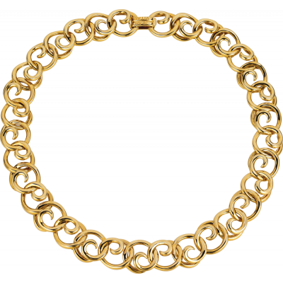 18kt Yellow Gold Melodie Necklace