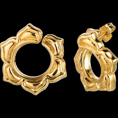 18kt Yellow Gold Soleil Earring