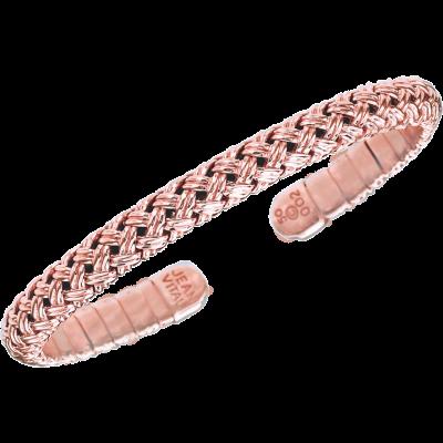 18kt Rose Gold Vannerie Spring Bracelet