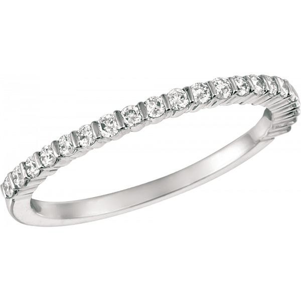 Platinum Minilok Diamond 21 Stone Ring