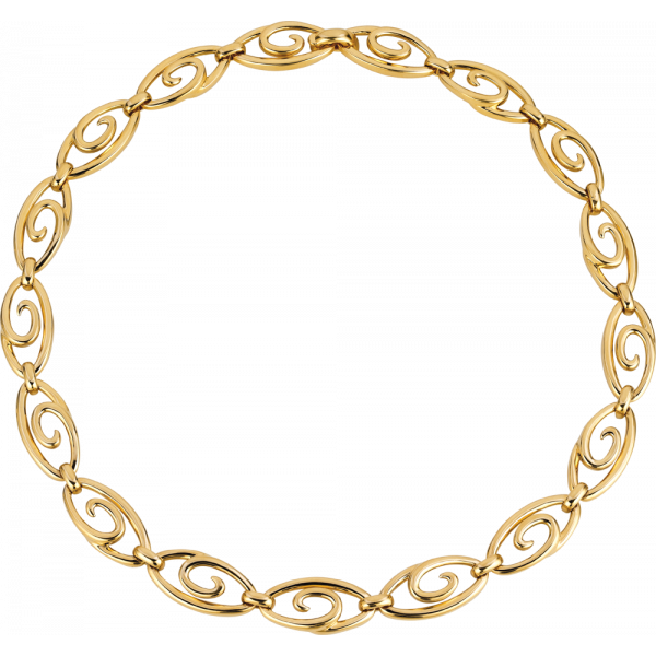 18kt Yellow Gold Small Harmonie Necklace