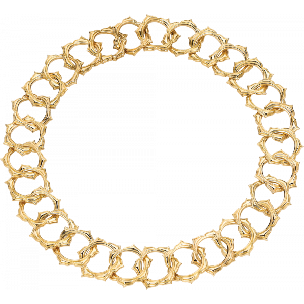 18kt Yellow Gold Soleil Necklace