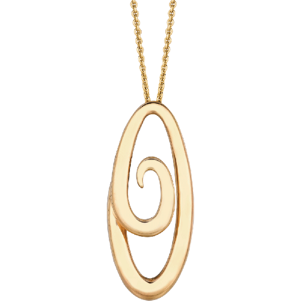 18kt Yellow Gold Harmonie Pendant